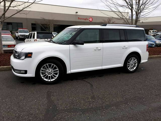 ... and drives like a luxury car. Itu0027s positively difficult to imagine how any model could be more unclassifiable than the schizophrenic Ford. & 2014 Ford Flex AWD Sold - Auto Cars in Portland Oregon Vancouver ... markmcfarlin.com